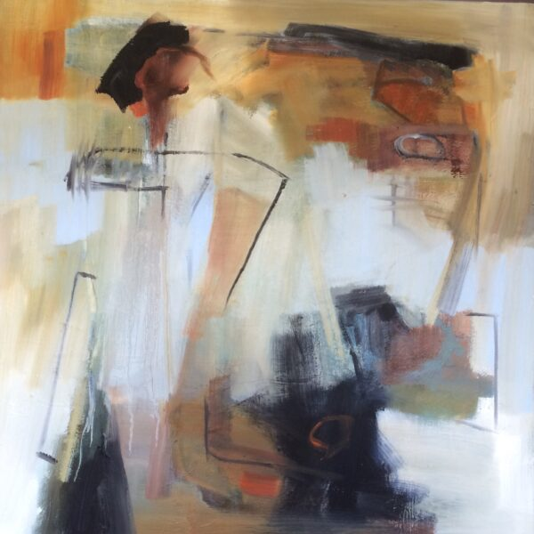 2038 On The Threshold 60 x 60cm