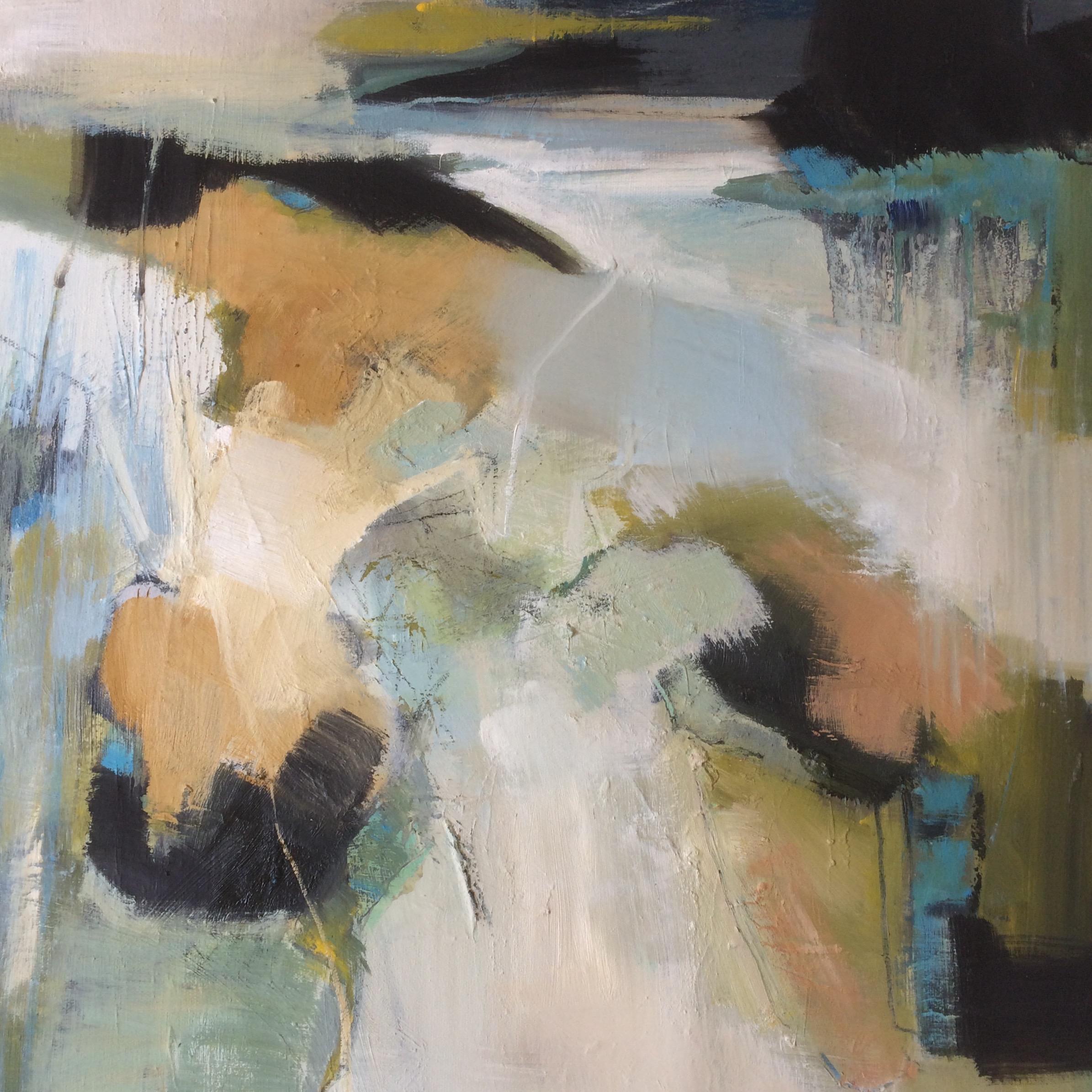 Sandbanks Abstract Oil Painting