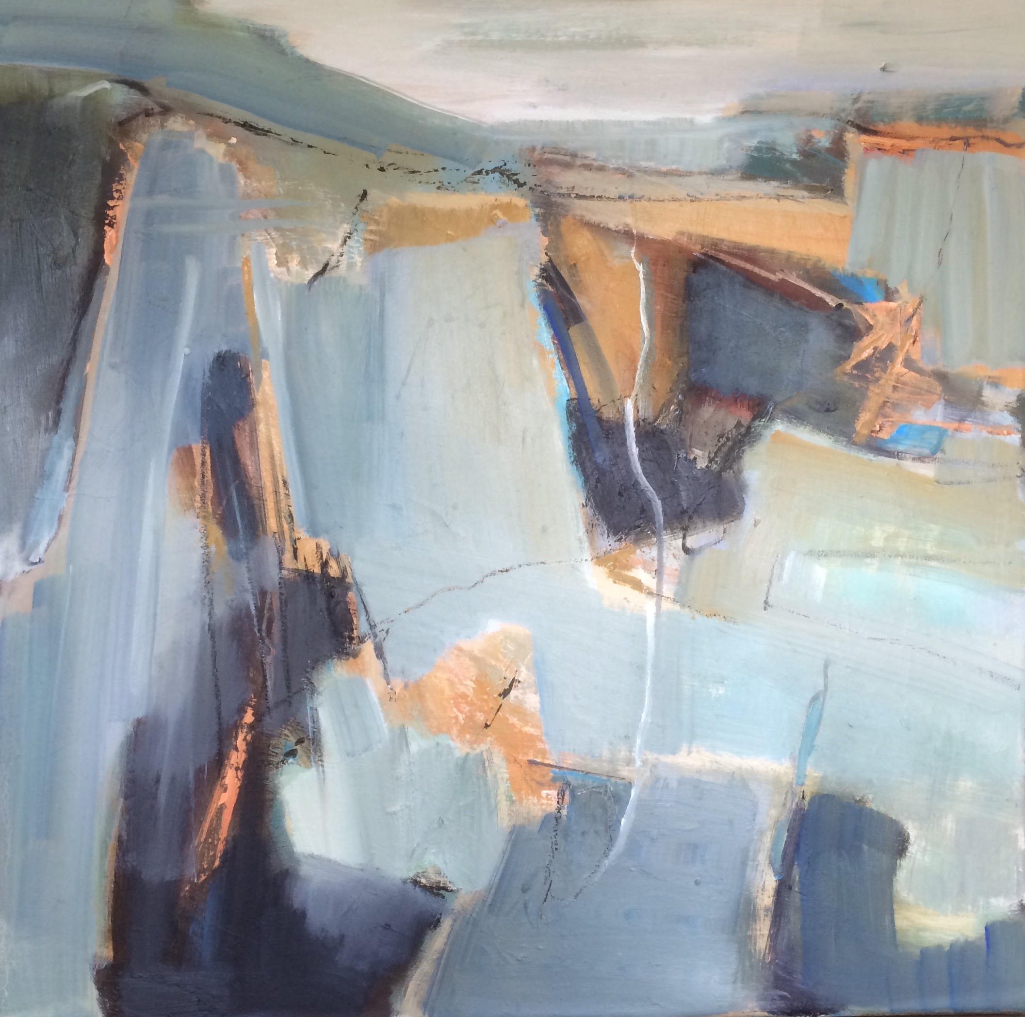 Call of the Coast abstract oil painting