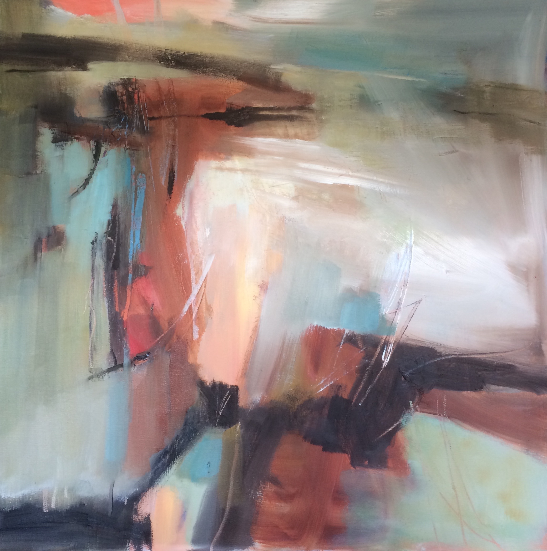 Timeless abstract oil painting