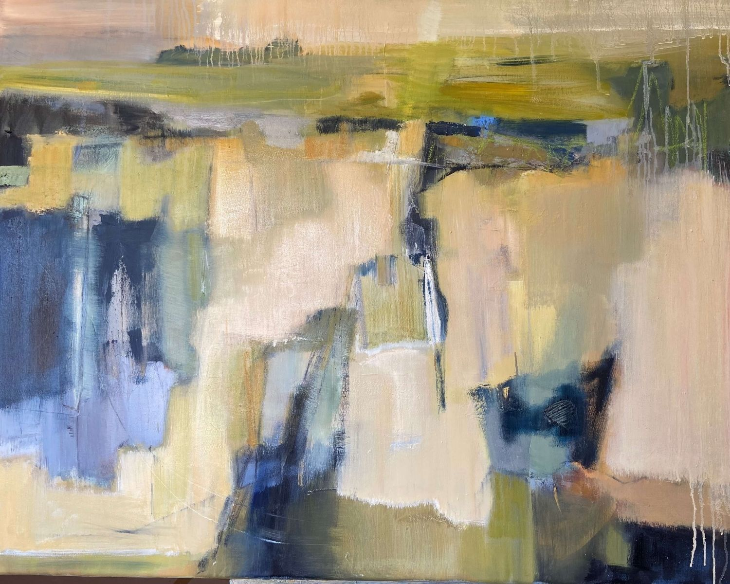 Along The Way Abstract Painting