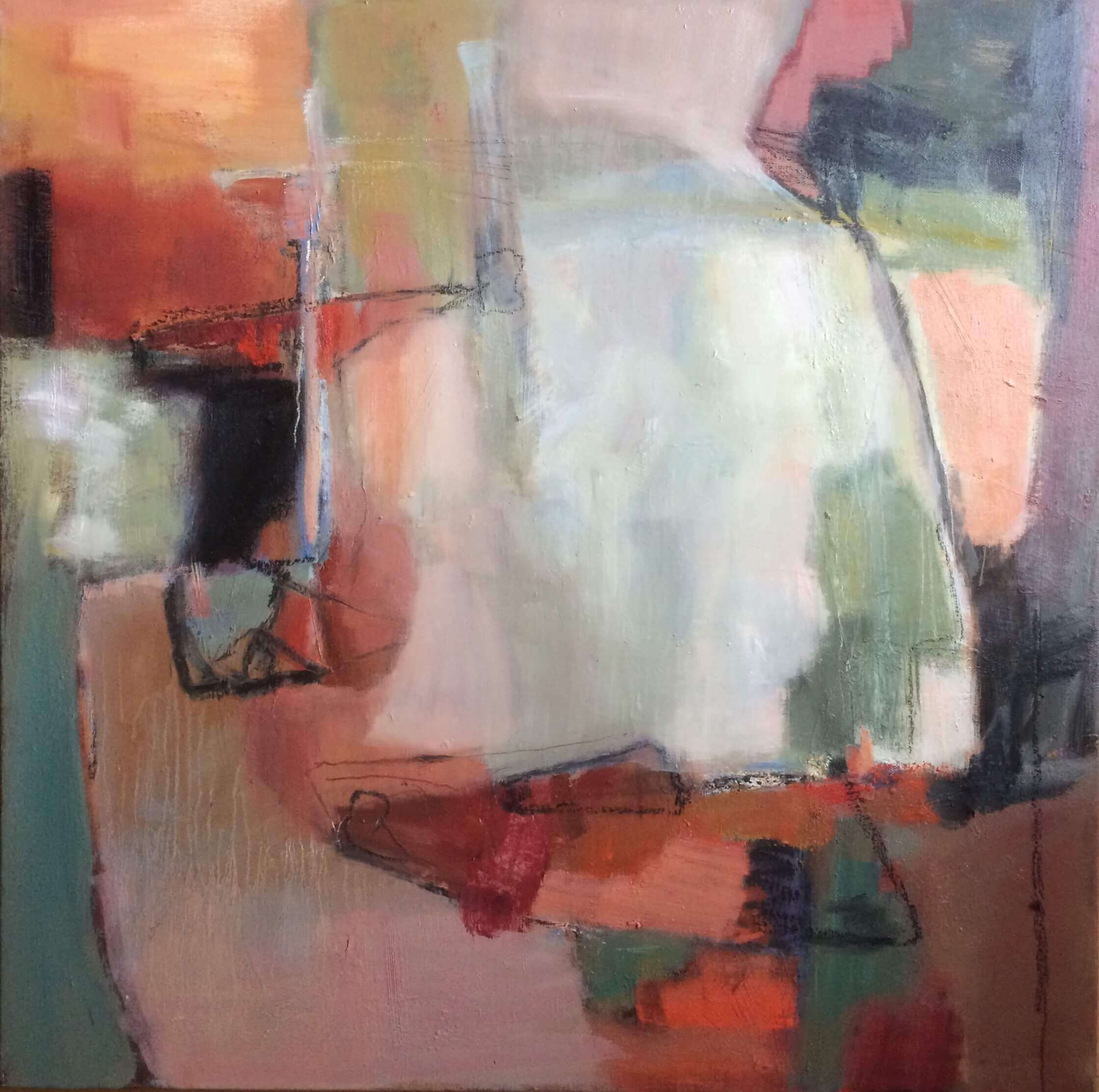Inner Calm Abstract Oil Painting