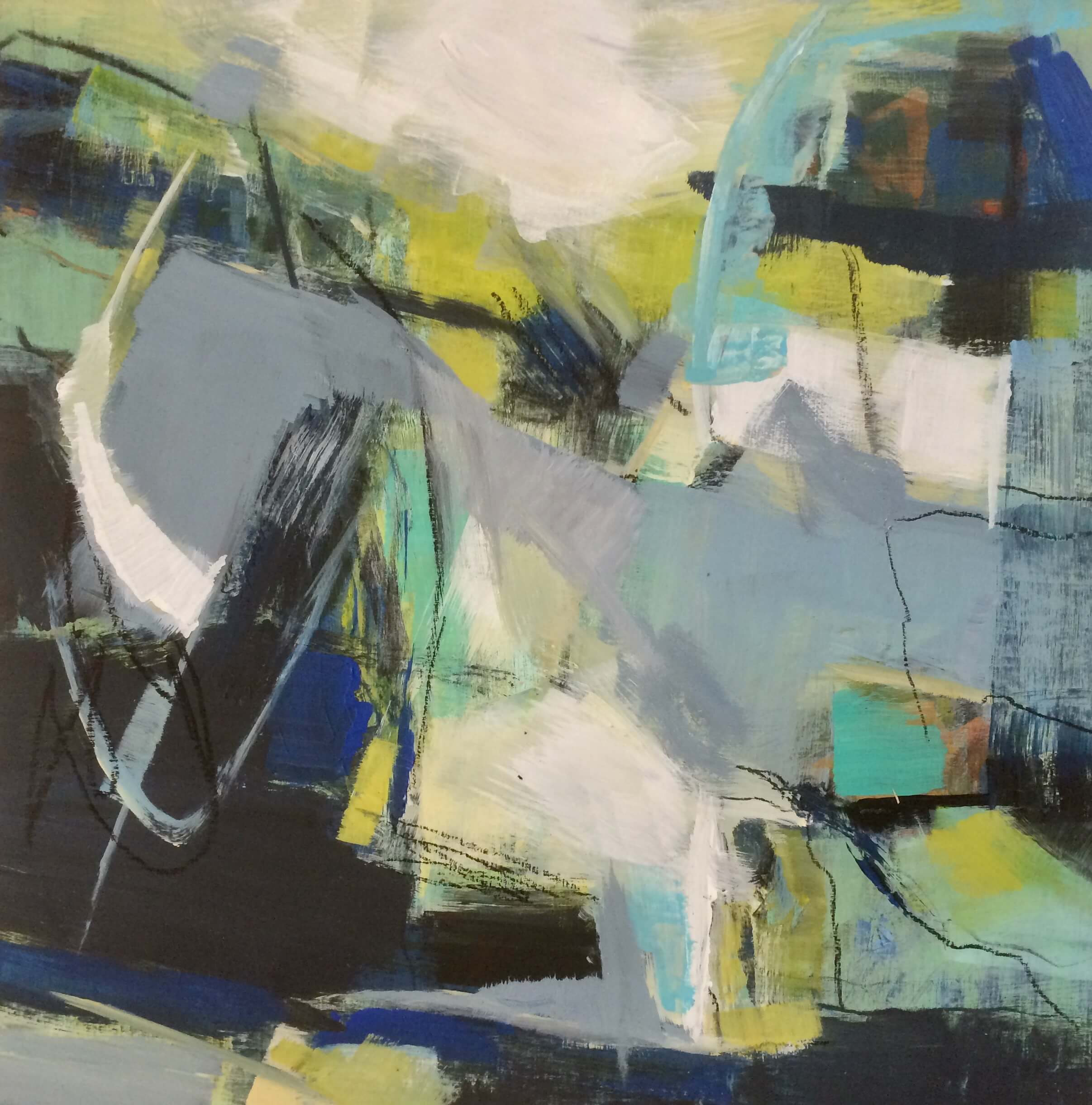 Rhythmical Abstract Painting