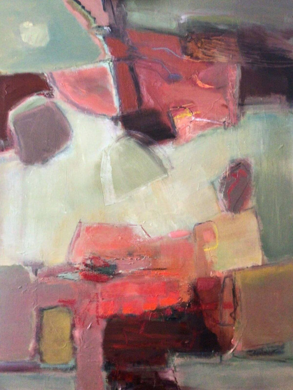 Shaping Up Abstract Painting